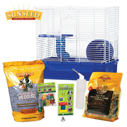 Home Sweet Home Hamster Starter Kit by Ware Mfg.