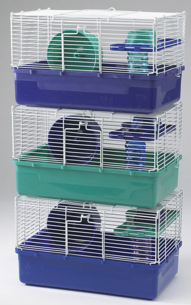 Home Sweet Home Hamster Cage 1 story 3 PACK by Ware Mfg.