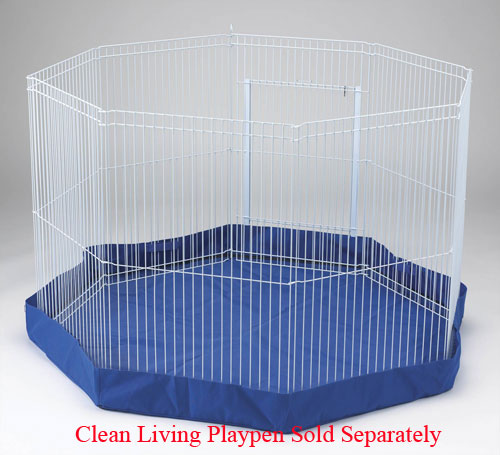 Clean Living Playpen Cover by Ware