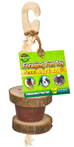 Foraging Fun Toy All Natural by Ware Mfg.