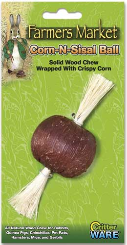 Corn-N-Sisal Ball by Ware