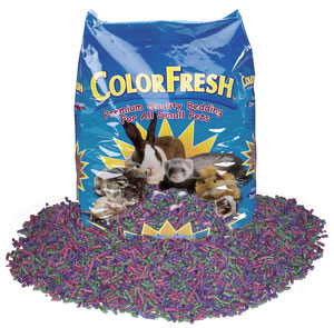 ColorFresh Multi Color Small Animal Bedding