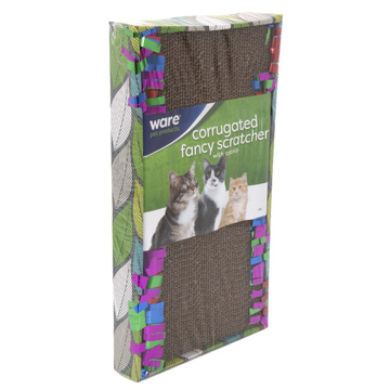 Cat Fancy Scratcher Long Lasting Corrugate