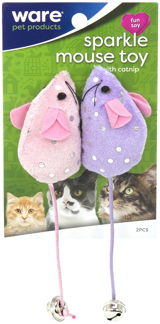Sparkle Mouse Toy 2 pack