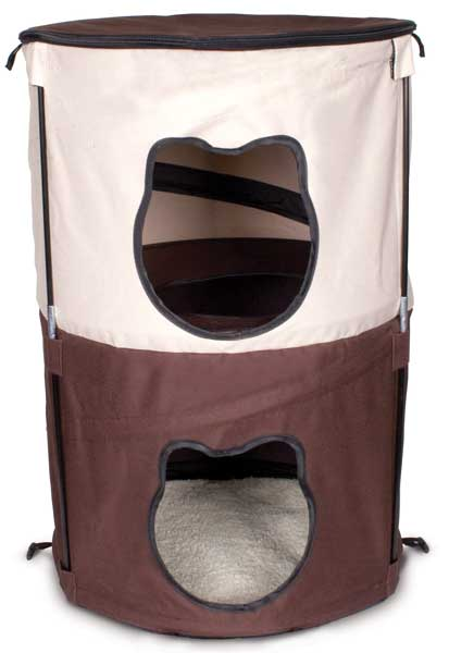 Kitty Pop-Up Condo, 2 Level by Ware Mfg