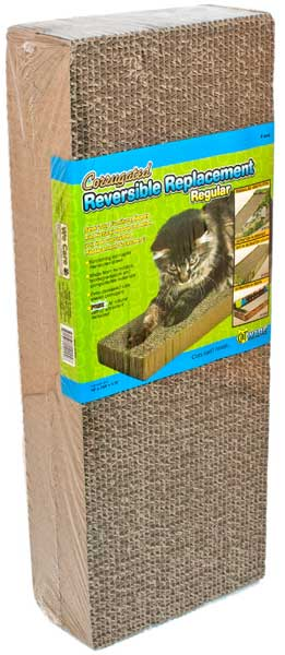 CatWare Double Wide Cardboard Scratcher Refill 2 pack