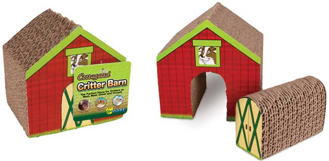 Corrugated Critter Barn by Ware Mfg.