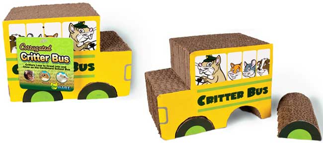 Corrugated Critter Bus by Ware Mfg.