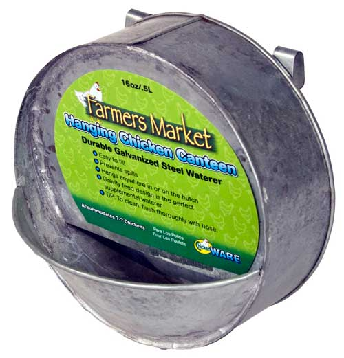 Farmers Market Hanging Chicken Canteen by Ware Mfg.