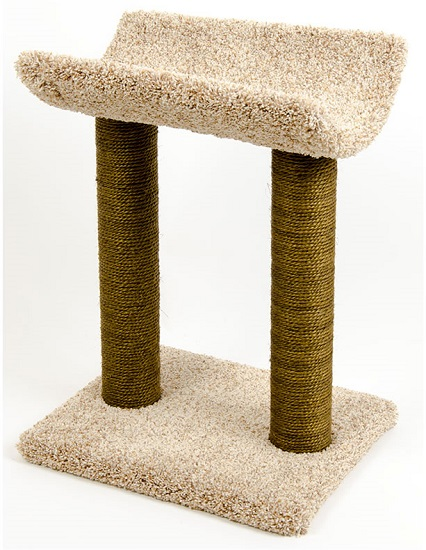 CatWare Kitty Lounge-N-Sisal Scrtch