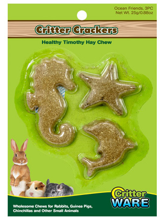 Critter Crackers 3pc Ocean