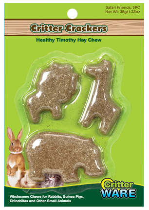 Critter Crackers 3pc Safari
