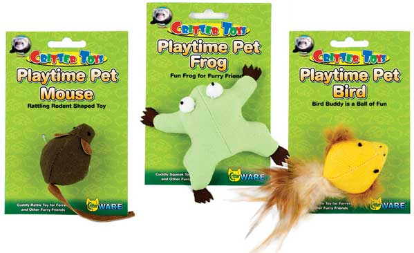 Critter Toys Playtime Pets by Ware Mfg.