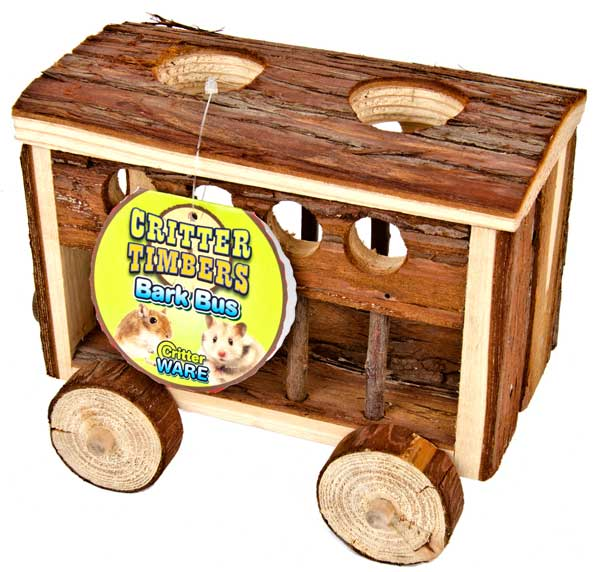 Critter Timbers Bark Bus