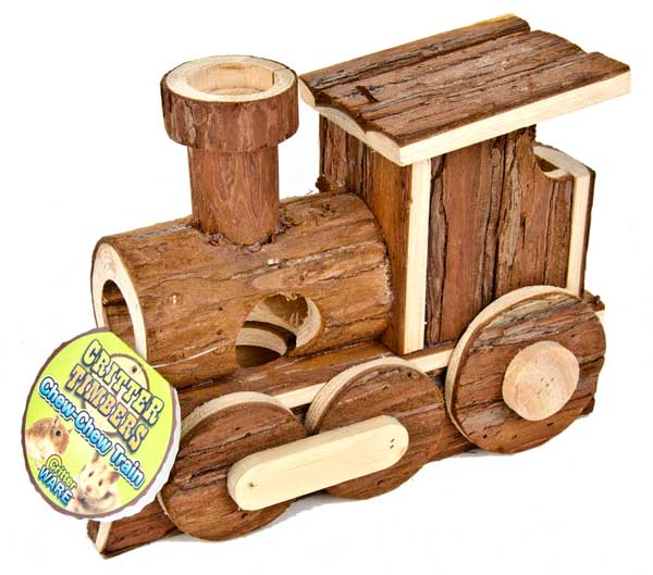 Critter Timber Chew-Chew Train
