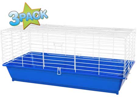 "Home Sweet Home Cage 35"" 3 Pack by Ware Pet"