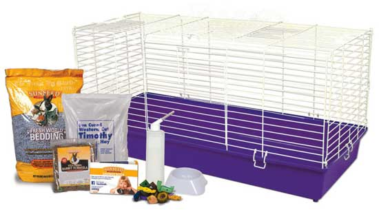 "Home Sweet Home Sunseed 40"" Rabbit Starter Kit"