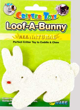 Critter Toys Loof-A-Bunny by Ware Mfg.