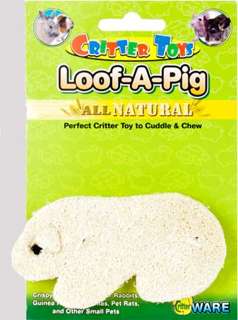Critter Toys Loof-A-Pig by Ware Mfg.