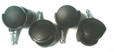 Replacement Caster Wheels for Indoor Hutches