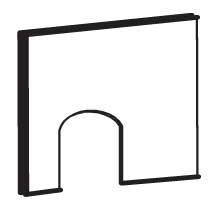 Replacement Divider Panel for Premium Plus Bunny Barn (WA 01519)