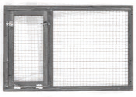 Replacement Front Panel for Large HD (Rabbitat) Hutch (WA01550)