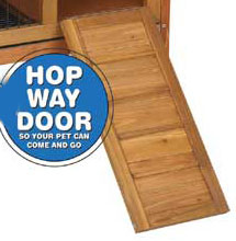 Replacement Hop-A-Way Door for Large Premium + Hutch (WA 01516)