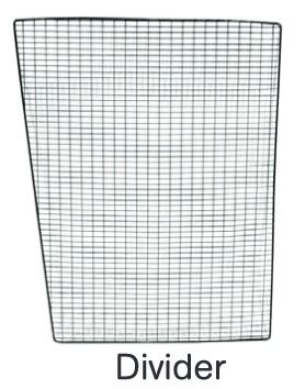 Replacement Divider Panel for Rabbitat Double Hutch (WA 01551)
