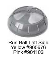 Replacement Spin City Run Ball Left Side by Ware Mfg.