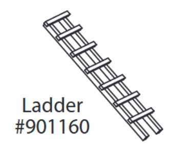 Replacement Ladder for Premium Plus Chick-N-Cottage
