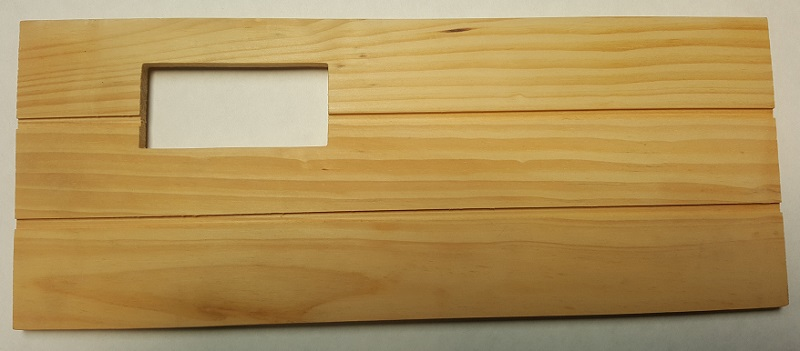 Replacement Wooden Shelf Care Fresh Natural Kit 16""