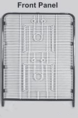 Replacement Front Panel for Indoor Hutch 4 Level