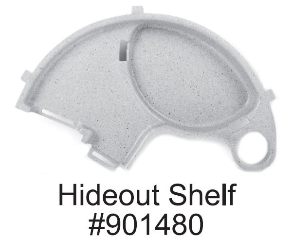 Replacement Hideout Shelf for National Geographic Critter Dome