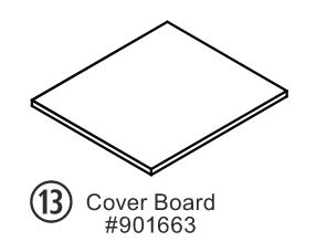 Replacement Home Harvest Hive Cover Board