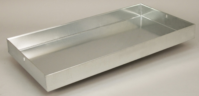 Replacement Drop Pans Galvanized