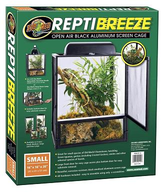 Repti Breeze Aluminum Screen Cages by Zoo Med