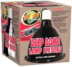 Zoo Med Deep Dome Clamp Lamp by ZooMed
