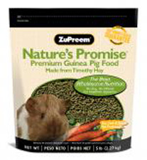 Nature's Promise Premium Guinea Pig Food by ZuPreem