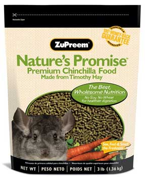 Nature's Promise Chinchilla Pellets by ZuPreem